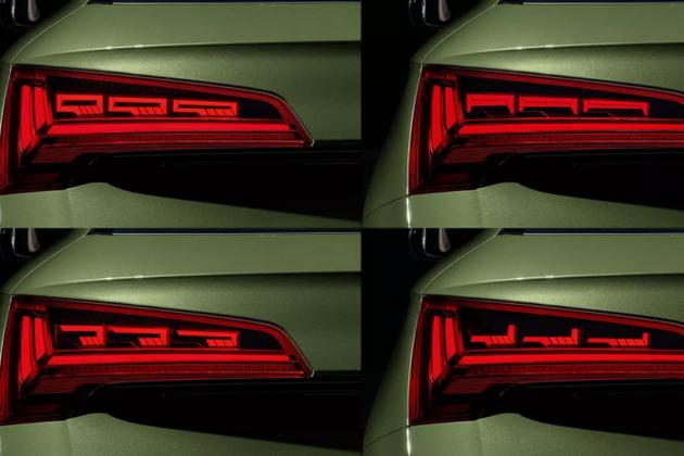 奥迪将在2021款Q5采用OLED尾灯