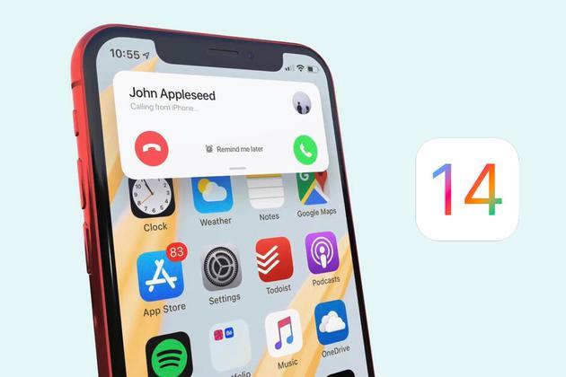 来电和FaceTime通话不再占据整个iPhone / iPad显示屏