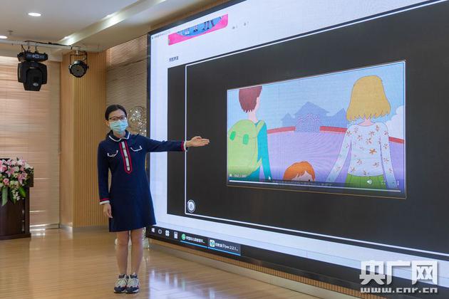 智慧幼儿园管理系统还为园所打造及提供丰富特色的学前教学资源(央广网发 通讯员供图)