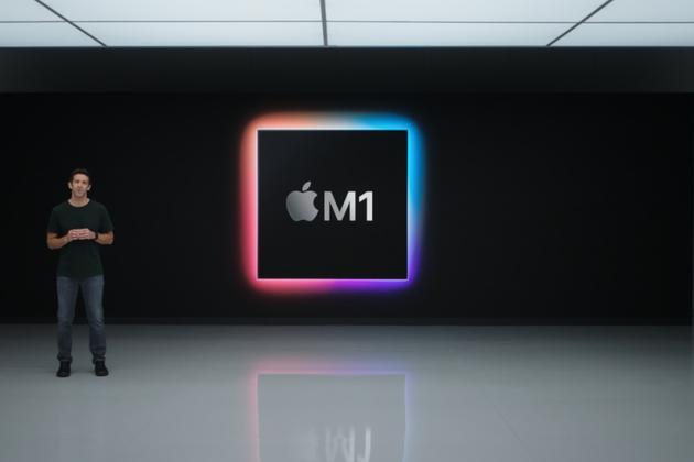 蘋果推出首款自研芯片M1