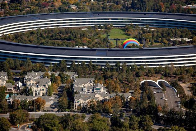 苹果无人车检验旅程上一年翻番 自动驾驶水平有行进