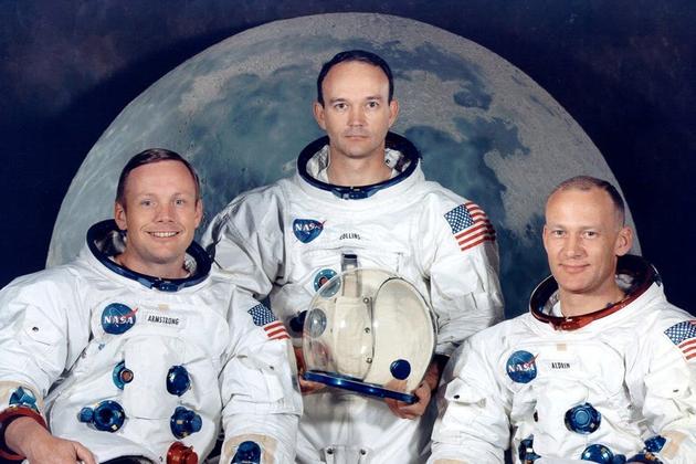 尼尔·阿姆斯特朗、迈克尔·科林斯和巴兹·奥尔德林