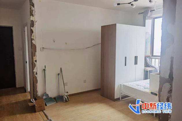 曾经住的房间已被拆除 受访者供图