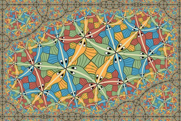 莫里茨·科内利斯·埃舍尔的艺术作品:《圆极限III》