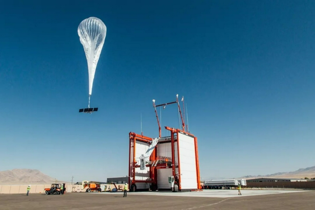 Google热气球
