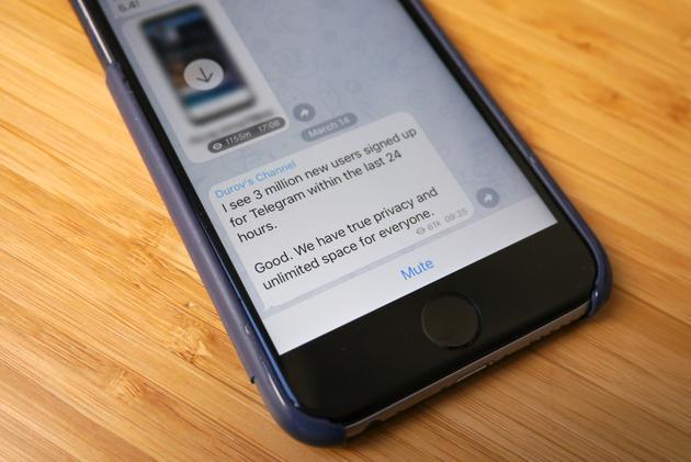Telegram的用户量突然上升,与Facebook的宕机事件有紧密的关系