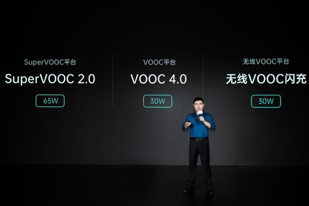 OPPO发布65W的SuperVOOC 2.0,...
