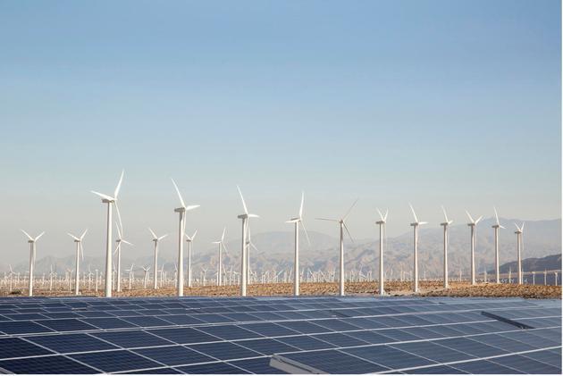 全球能源体系统中可再生能源的份额已经提升至将近20%