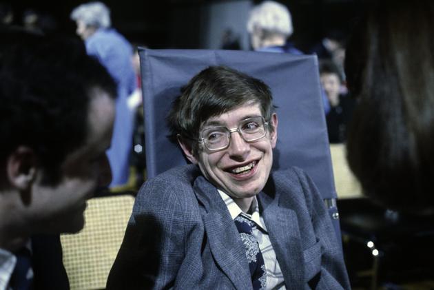 1979年10月,斯蒂芬·霍金在普林斯顿大学