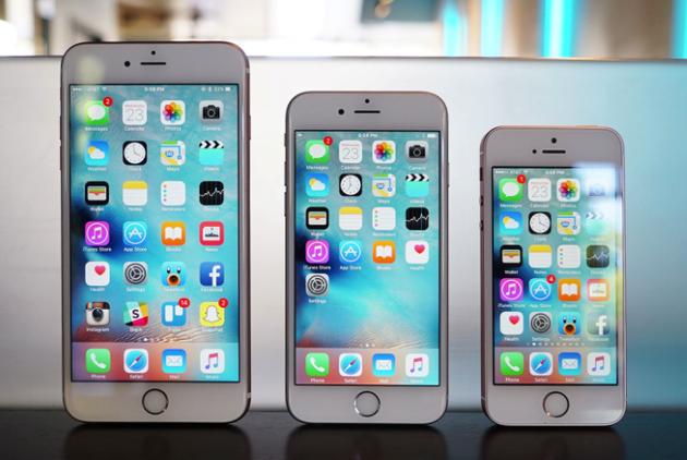 iPhone 6系列和iPhone SE