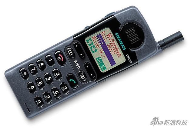 """西门子S10,当年号称""""彩色屏幕手机"""""""
