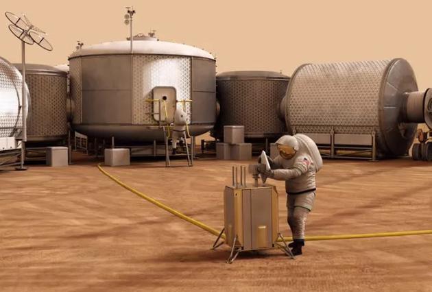 火星定居点可能需要一个外伤救治舱