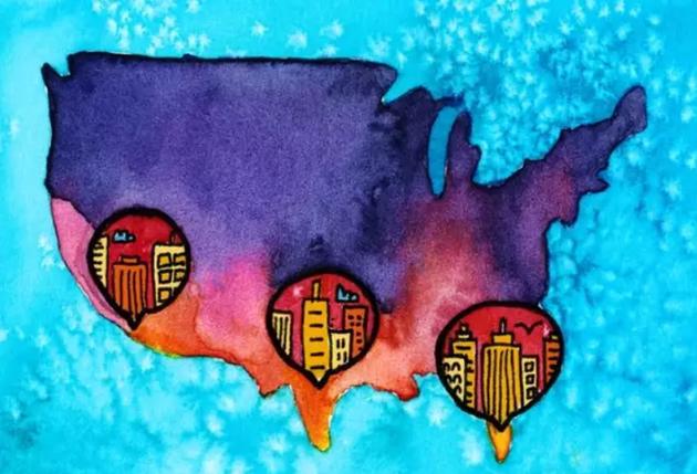 在美国,气候变化与细菌耐药性存在着密切联系,尤其是美国南部地区。