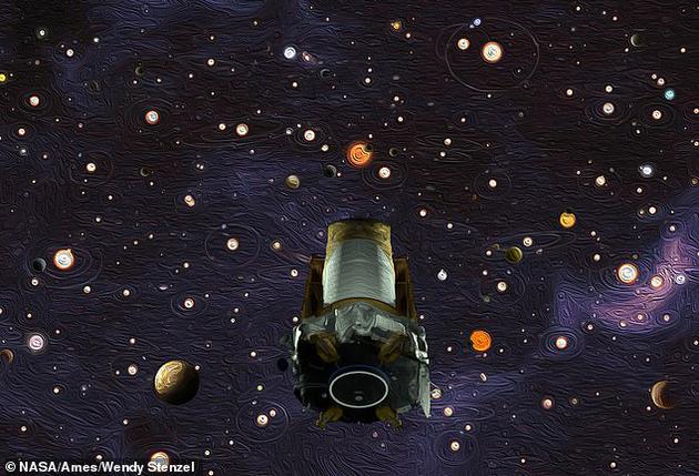 """开普勒探测器收到""""晚安""""指令的时间,正好是德国天文学家约翰尼斯·开普勒(Johannes Kepler)往逝388周年的日子。"""