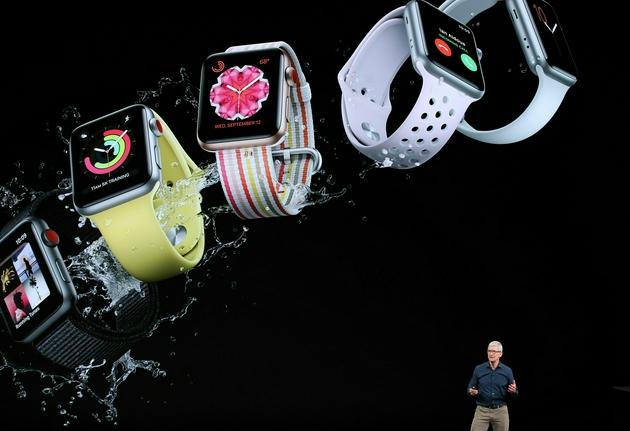 Apple Watch是库克时期苹果的重要产品|视觉中国
