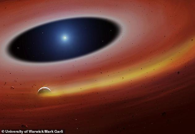 在距離地球大約410光年的室女座方向,正有一大團鐵鎳金屬圍繞著一顆死亡恒星高速旋轉,科學家們相信,那應該是一顆行星的尸體