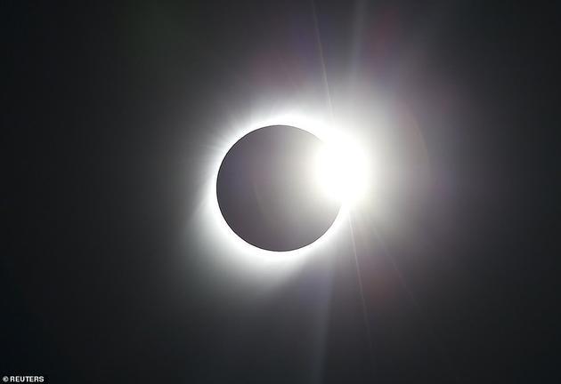 理论上,空气中的尘埃会形成一个巨大的遮阳棚(如图所示,其方式与日食相似),将部分太阳光和热量反射回太空,使通过的光线变暗,从而保护地球免受气候变暖日益恶化的破坏
