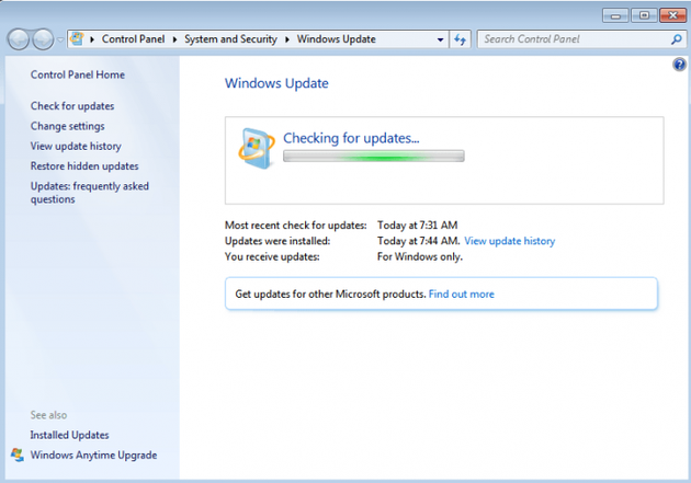 Windows 7获KB4493132更新:显示即将停止支持通知