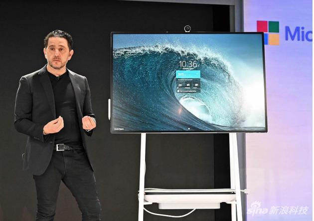 微软发布Surface Hub 2S:机身更轻 新增移动电池包