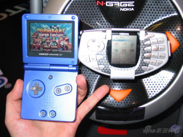 N-Gage当年的主要对手是GBA