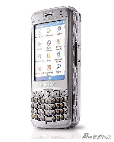 P51是明基西门子的一款出色作品,采用微软WindowsMobile系统