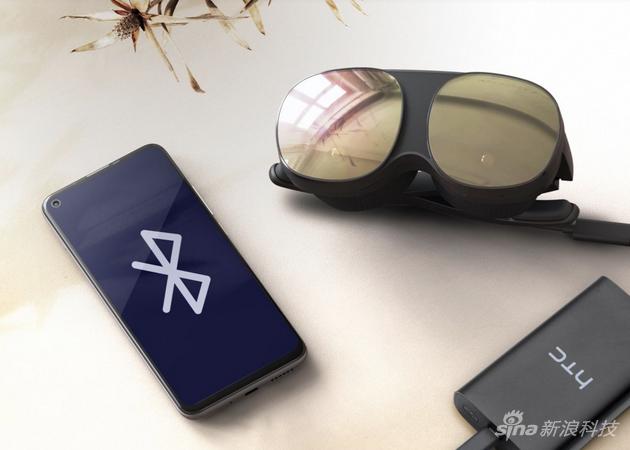 VIVE Flow可折叠,可连接智能手机