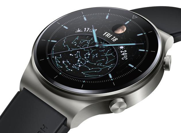 无线充电+14天续航 华为Watch GT2 Pro智能手表曝光