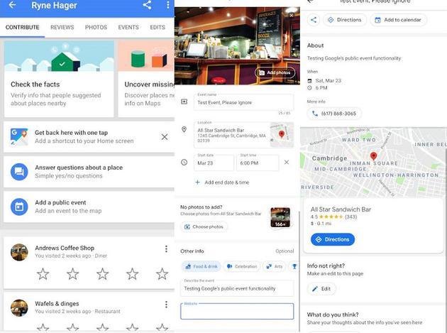 谷歌地图扩大众包范围:拟允许用户添加公共活动等事件信息