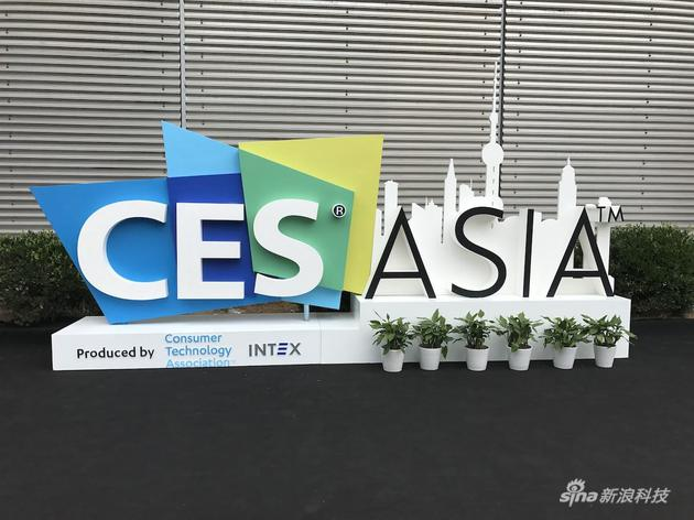 CES Asia入场标志