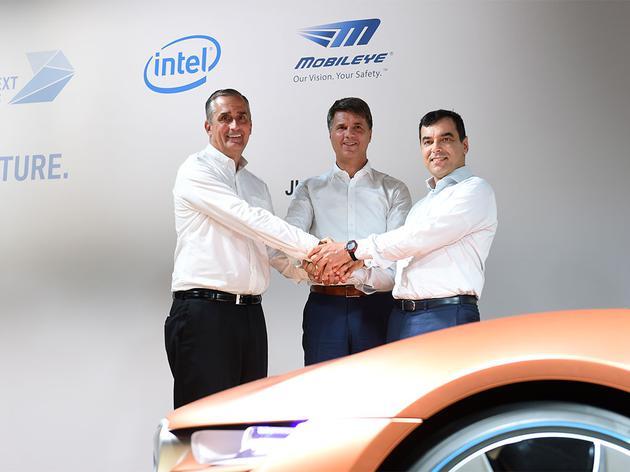 英特尔CEO:收购Mobieye主要是想增强无人驾驶安全性
