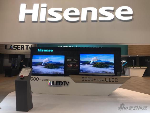 第一张图是:全球最高背光分区电视--海信5376分区电视U9D