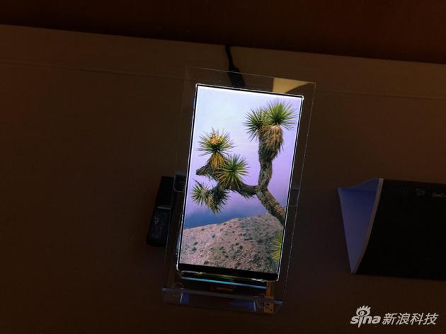 裸眼3D手机显示屏
