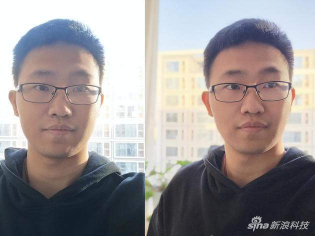 华为P20 Pro(左)和nova 4(右)
