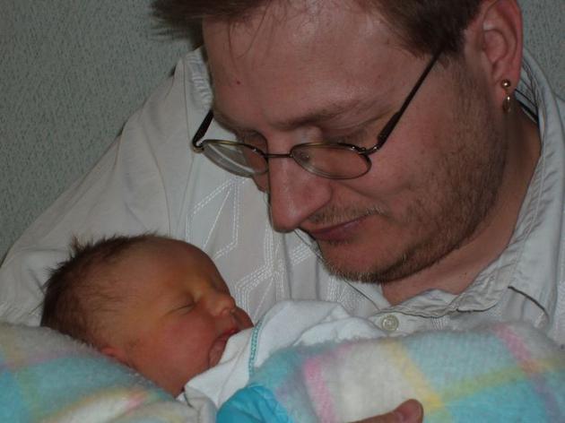 婴儿时期的维斯塔·阿瓦隆·希姆瑟(Vista Avalon Simser)