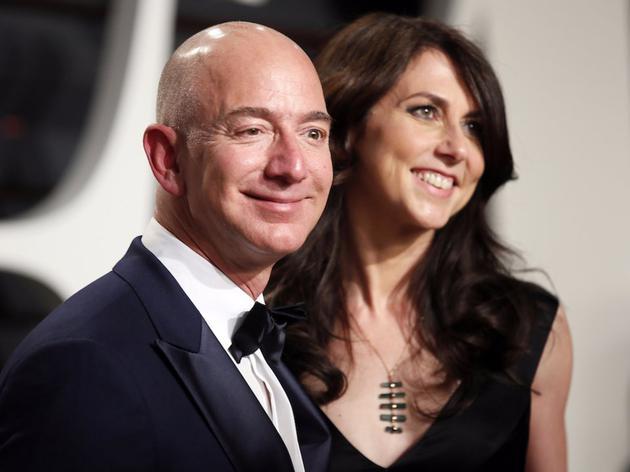 史上最贵离婚案:贝佐斯妻子最高可分得660亿美元家产