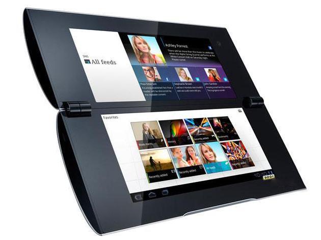 索尼Tablet P�p屏手�C