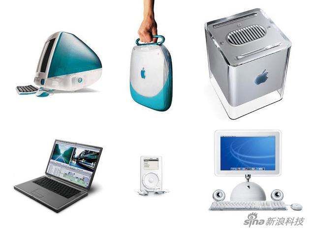 乔布斯回归后几款主要产品