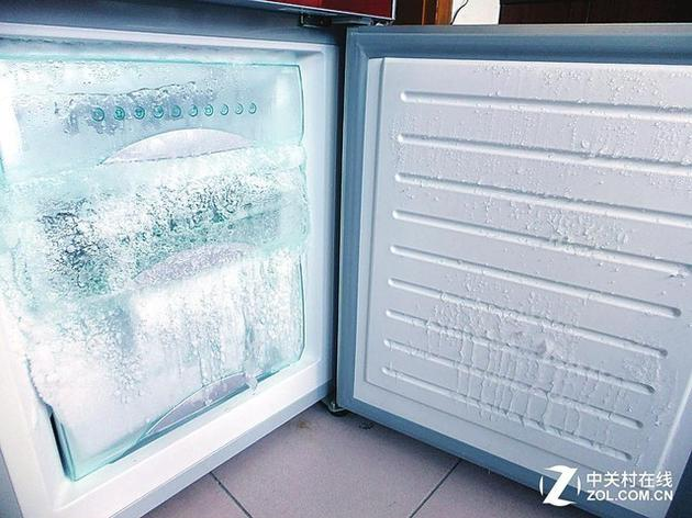 直冷方式易有霜结冰,除霜是件麻烦事