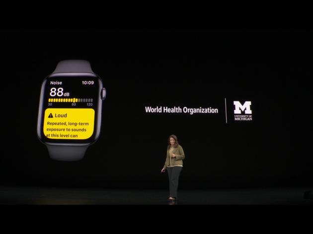 噪音,经期等是watch OS 6系统更新带来的功能