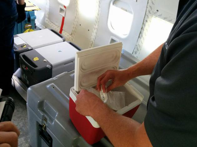 2015年2月,从国际空间站采集的微生物样品返回地球