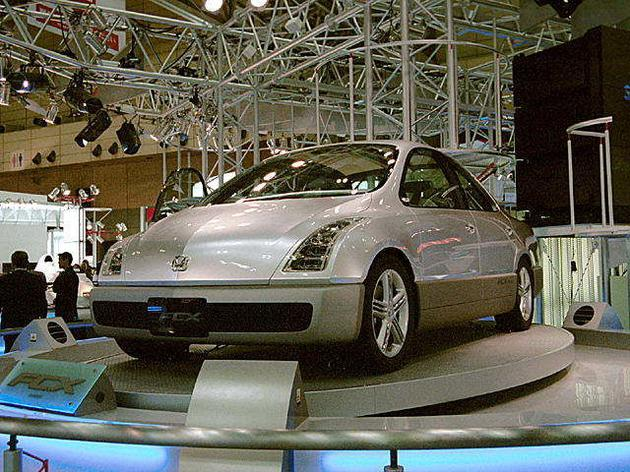 1999 年东京车展,本田展示了 FCX 概念车型 | wikipedia