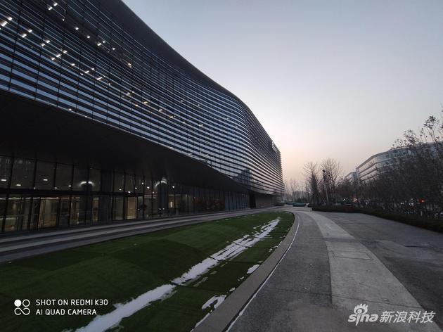 Redmi K30超广角拍摄