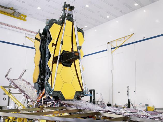 詹姆斯·韦伯望远镜:触及宇宙中曾经遥不可及的角落