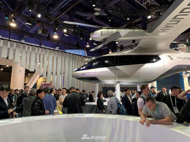 現代汽車與Uber聯合研發的概念飛行汽車
