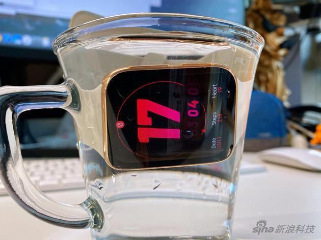 5ATM日常防水没问题
