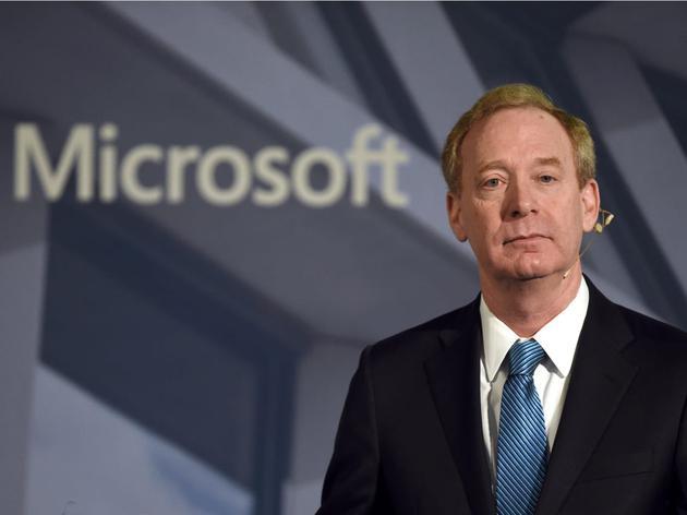 微软总裁布拉德·史密斯(Brad Smith)