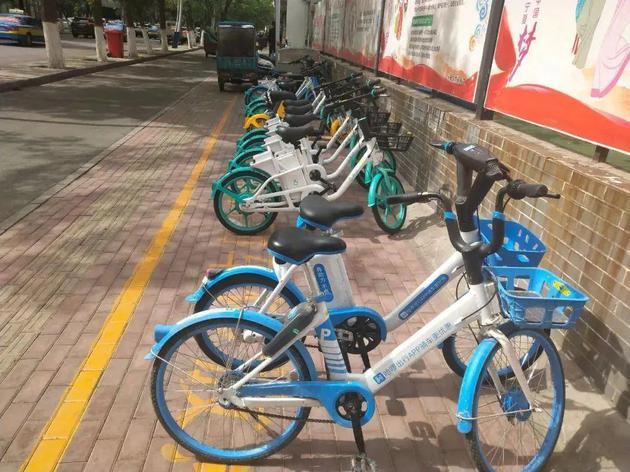 银川街头的电单车 来源:宁夏旅游