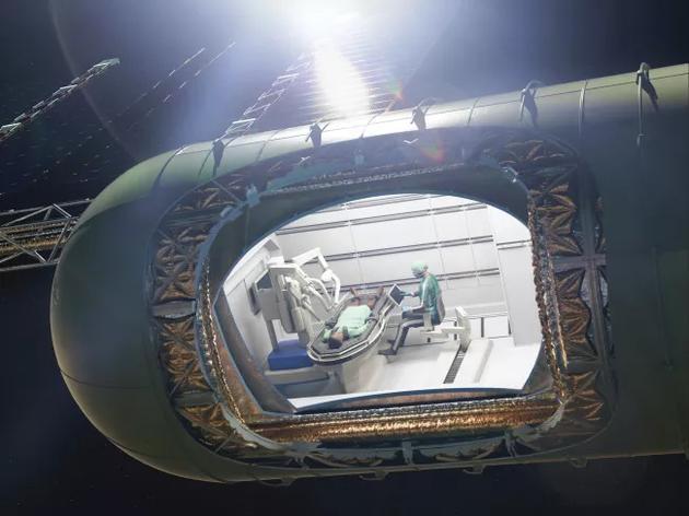 """新浪科技:如何在太空中做手术?从漂浮的内脏到""""粘稠""""的血液新浪科技2020-08-10 09:47:120阅"""
