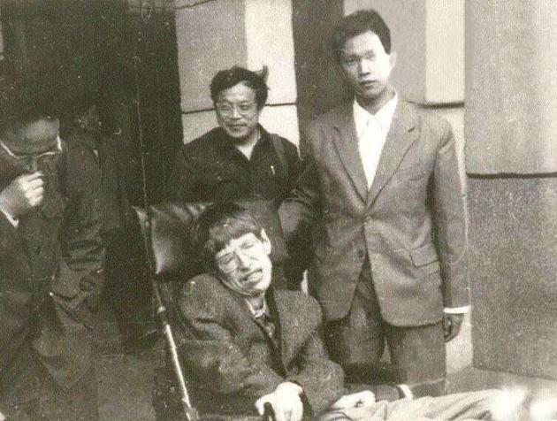 左起:刘辽、霍金、赵峥、刘兵