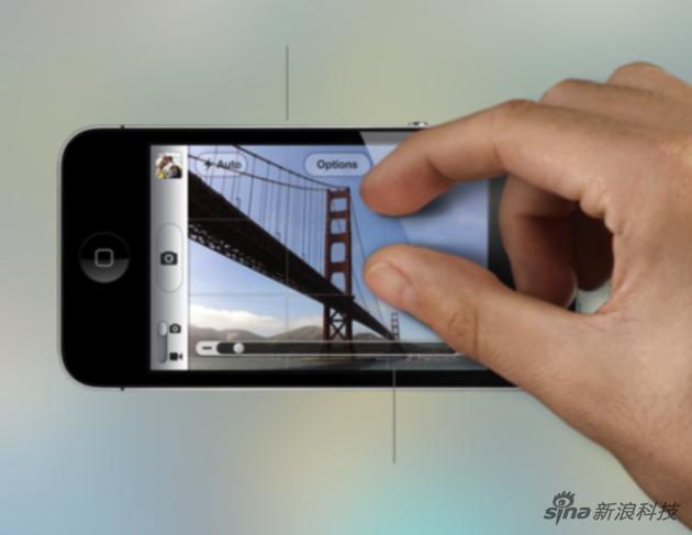 在iPhone之前,放大图片基本是通过界面上的+ -按钮来实现